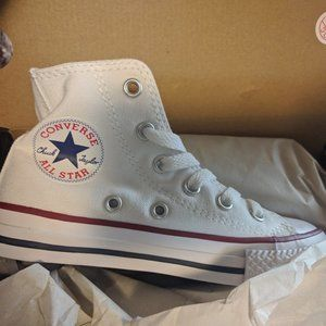 NEW Converse Optical White Youth Hit Top Shoes
